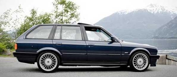 Vecchia BMW Serie 3 Touring