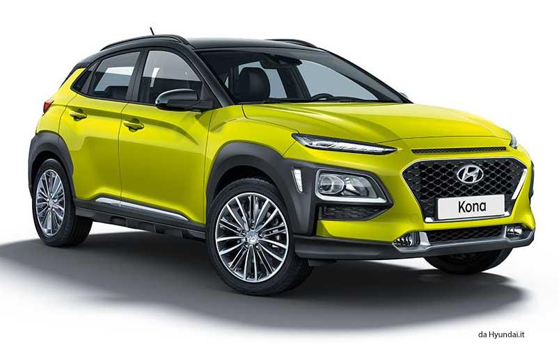 Nuova Hyundai Kona Hybrid